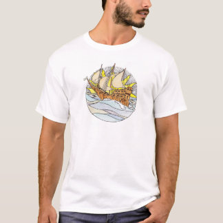 Vintage tarot inspired t-shirt