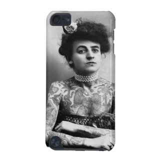 Vintage Tattoed Woman Cell Phone Case
