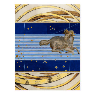 Vintage Taurus Star Chart Postcards