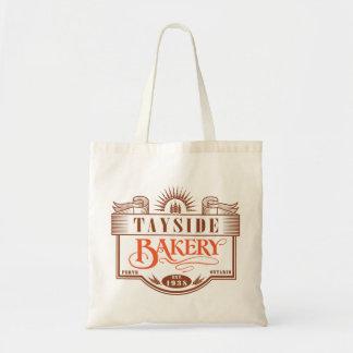 Vintage Tayside Bakery Budget Tote Bag