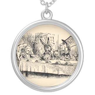 Vintage Tea Party; Alice, Hatter and March Hare Necklace