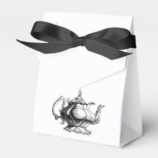 Vintage Tea pot Custom Wedding  Favour gift bags Favour Boxes