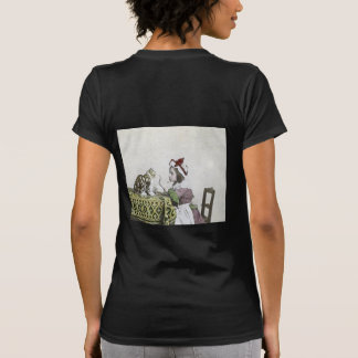 Vintage Tea Time Party With Naughty Kitty Tee Shirts
