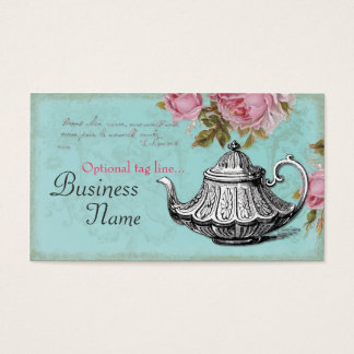 Vintage Teapot Business Card