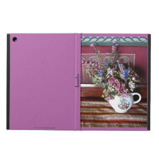 Vintage Teapot with Flowers iPad Air Case