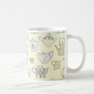 vintage teapots mug