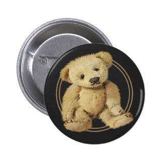 Vintage Teddy Bear 6 Cm Round Badge