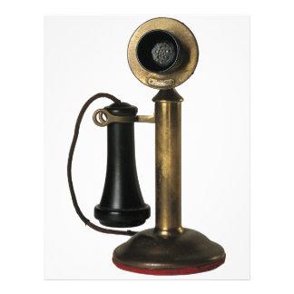Vintage Telephone 21.5 Cm X 28 Cm Flyer