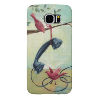 Vintage Telephone & Birds Phone Case