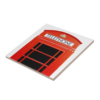 Vintage Telephone Booth Tile