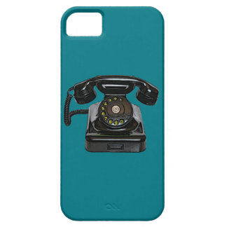 Vintage telephone iphone 5 barely there QPC case