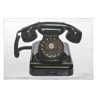 Vintage telephone Placemat