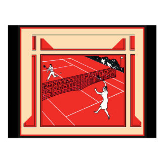Vintage Tennis Postcards