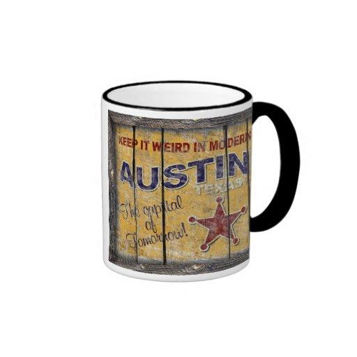 Vintage Texas - Austin Mug