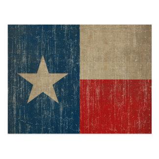 Vintage Texas Flag Post Cards