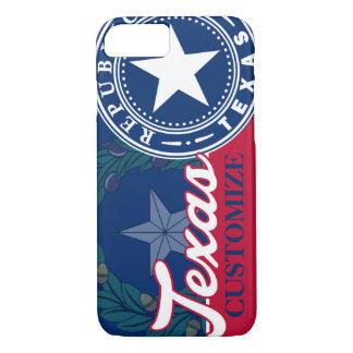 Vintage Texas Flag Seal Patriotic iPhone 7 Case