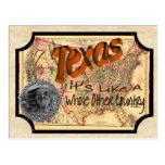 Vintage Texas Old Postcard
