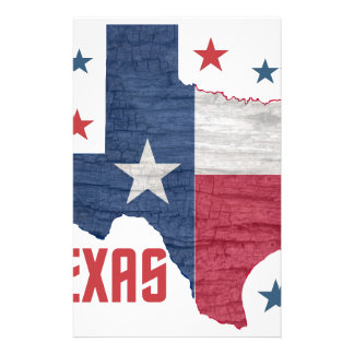 Vintage Texas Customized Stationery