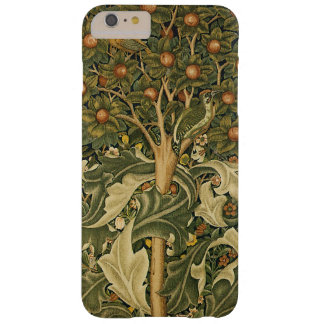 Vintage Textile Art, Woodpecker by William Morris Barely There iPhone 6 Plus Case