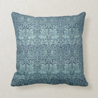 Vintage Textile Pattern Brer Rabbit William Morris Cushion