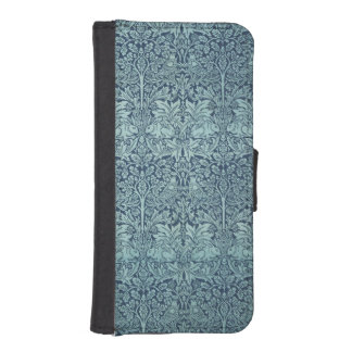 Vintage Textile Pattern Brer Rabbit William Morris iPhone SE/5/5s Wallet Case