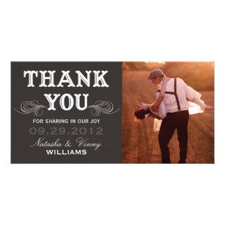 VINTAGE THANK YOU | WEDDING THANK YOU CARD