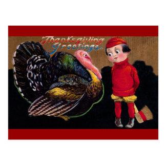 Vintage Thankgiving Postcard