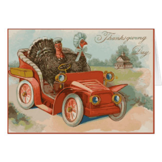 Vintage Thanksgiving Day Greeting Card