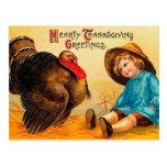 Vintage Thanksgiving Greeting
