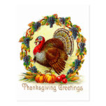 Vintage Thanksgiving Greetings Post Cards