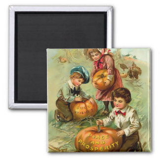 Vintage Thanksgiving Magnet