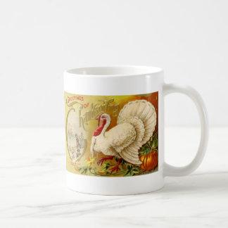Vintage Thanksgiving Turkey Mug