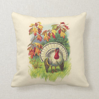 Vintage Thanksgiving Turkey pillow