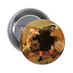 Vintage Thanksgiving Turkey Pins