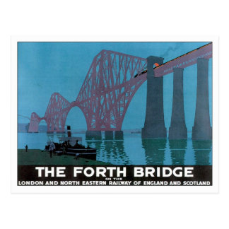 Vintage The Forth Bridge Post Cards