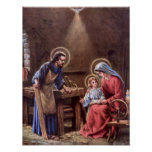 vintage the holy family, Jesus christ, Josef,Mary