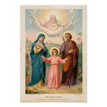 vintage the holy family, Jesus christ, Josef,Mary