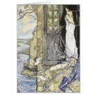 Vintage - The Lady of Shalott, Card