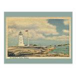 Vintage The Lighthouse, Nassau Bahamas Postcards