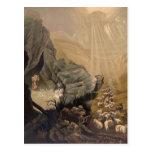 Vintage The Lost Sheep Bible Illustration 1878
