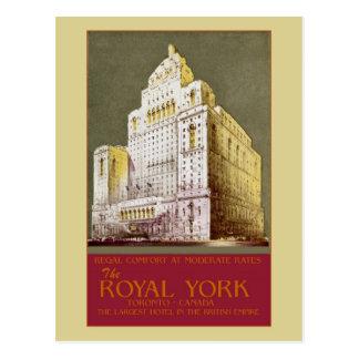 Vintage The Royal York Hotel Toronto Postcard