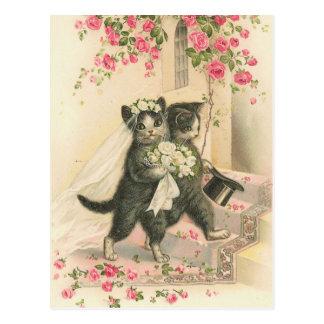 Vintage The Wedding 1 Postcard