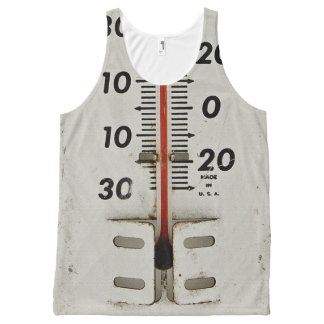 vintage thermometer All-Over print tank top