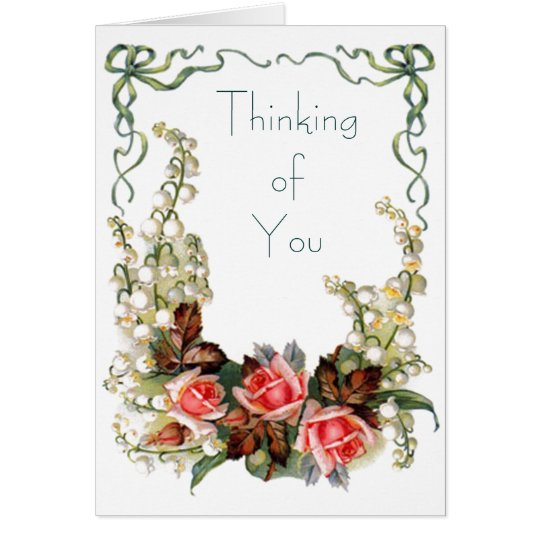 Vintage - Thinking of You Card