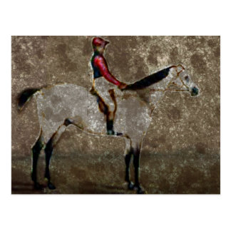 Vintage Thoroughbred Race Horse Postcard