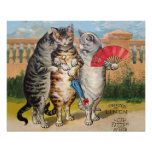 Vintage Three Little Kittens Lost Mittens Posters