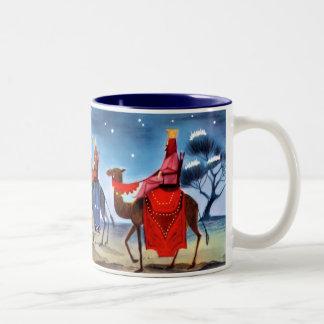 Vintage Three Wise Men Mug