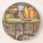 Vintage Thumbelina Fairy Tale, Eleanor Vere Boyle Coaster