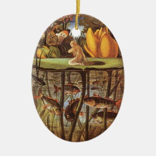 Vintage Thumbelina Fairy Tale; Eleanor Vere Boyle Ornament