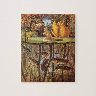 Vintage Thumbelina Fairy Tale, Eleanor Vere Boyle Jigsaw Puzzle